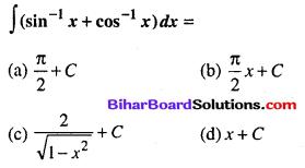 Bihar Board 12th Maths Objective Answers Chapter 7 समाकलन Q74