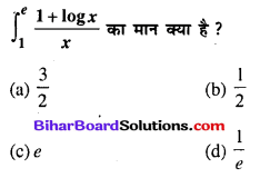 Bihar Board 12th Maths Objective Answers Chapter 7 समाकलन Q77
