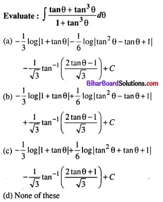 Bihar Board 12th Maths Objective Answers Chapter 7 Integrals Q15