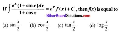 Bihar Board 12th Maths Objective Answers Chapter 7 Integrals Q17