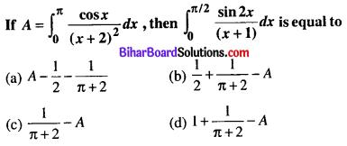 Bihar Board 12th Maths Objective Answers Chapter 7 Integrals Q34