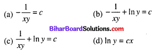 Bihar Board 12th Maths Objective Answers Chapter 9 Differential Equations Q30