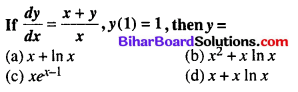 Bihar Board 12th Maths Objective Answers Chapter 9 Differential Equations Q42