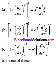 Bihar Board 12th Maths Objective Answers Chapter 9 Differential Equations Q5