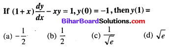 Bihar Board 12th Maths Objective Answers Chapter 9 Differential Equations Q55
