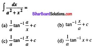 Bihar Board 12th Maths VVI Objective Questions Model Set 1 in English Q28