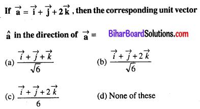 Bihar Board 12th Maths VVI Objective Questions Model Set 1 in English Q37