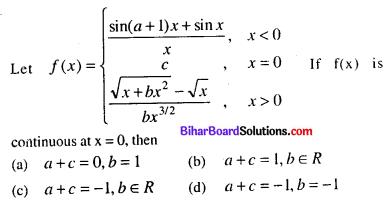 Bihar Board 12th Maths VVI Objective Questions Model Set 2 in English Q6