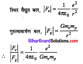 Bihar Board 12th Physics Objective Answers Chapter 1 वैद्युत आवेश तथा क्षेत्र - 17