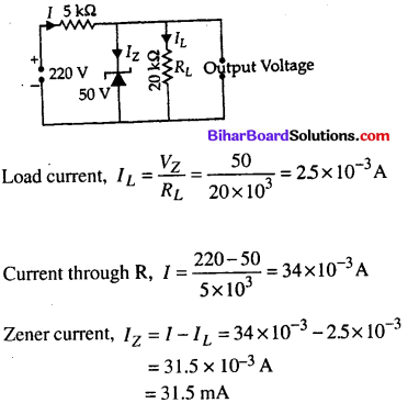 Bihar Board 12th Physics Objective Answers Chapter 14 Semiconductor Electronics Materials, Devices and Simple Circuits12