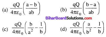 Bihar Board 12th Physics Objective Answers Chapter 2 Electrostatic Potential and Capacitance - 2