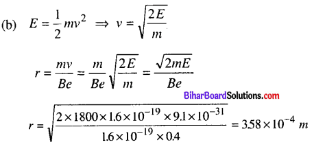 Bihar Board 12th Physics Objective Answers Chapter 4 Moving Charges and Magnetism - 9