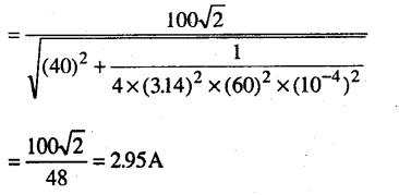 Bihar Board 12th Physics Objective Answers Chapter 7 प्रत्यावर्ती धारा - 12