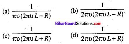 Bihar Board 12th Physics Objective Answers Chapter 7 प्रत्यावर्ती धारा - 5