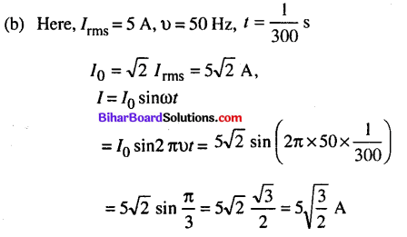 Bihar Board 12th Physics Objective Answers Chapter 7 Alternating Current - 15