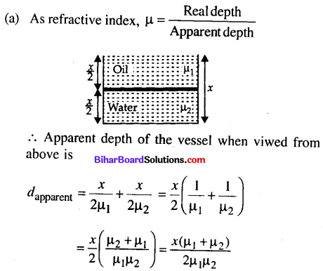 Bihar Board 12th Physics Objective Answers Chapter 9 Ray Optics and Optical Instruments - 6