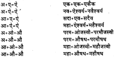 Bihar Board Class 12th Hindi व्याकरण संधि 4