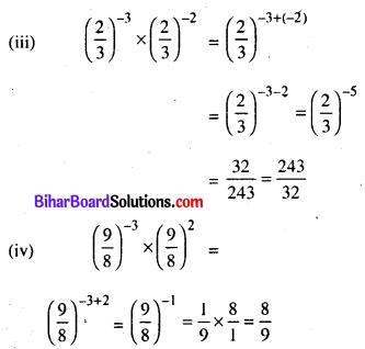 Bihar Board Class 8 Maths Solutions Chapter 10 घातांक और घात Ex 10.1 Q3.3