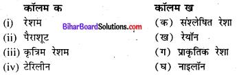 Bihar Board Class 8 Science Solutions Chapter 4 कपड़े तरह-तरह के रेशे तरह-तरह के 1