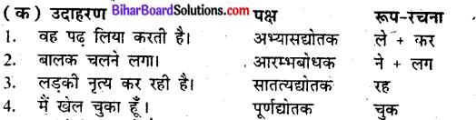 Bihar Board Class 9 Hindi व्याकरण परसर्ग 'ने' का क्रिया पर प्रभाव - 2