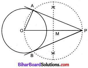 Bihar Board Class 10 Maths Solutions Chapter 11 रचनाएँ Additional Questions LAQ 1