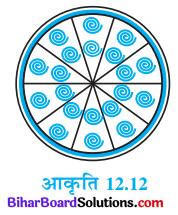 Bihar Board Class 10 Maths Solutions Chapter 12 वृतों से संबंधित क्षेत्रफल Ex 12.2 Q9