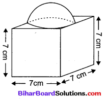 Bihar Board Class 10 Maths Solutions Chapter 13 पृष्ठीय क्षेत्रफल एवं आयतन Ex 13.1 Q4