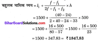 Bihar Board Class 10 Maths Solutions Chapter 14 सांख्यिकी Ex 14.2 Q3.1