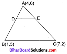 Bihar Board Class 10 Maths Solutions Chapter 7 निर्देशांक ज्यामिति Ex 7.4 Q6