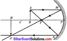 Bihar Board Class 10 Science Solutions Chapter 10 प्रकाश-परावर्तन तथा अपवर्तन