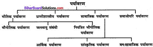 Bihar Board Class 11 Sociology Solutions Chapter 3 पर्यावरण और समाज