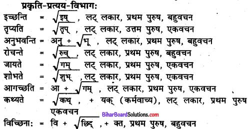 Bihar Board Class 7 Sanskrit Solutions Chapter 3 ऋतुपरिचयः 2