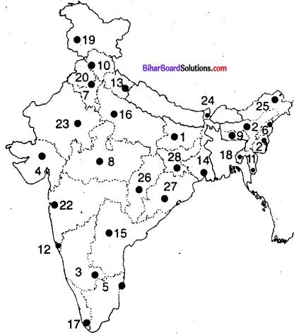 Bihar Board Class 9 Geography Solutions Chapter 1 स्थिति एवं विस्तार - 1