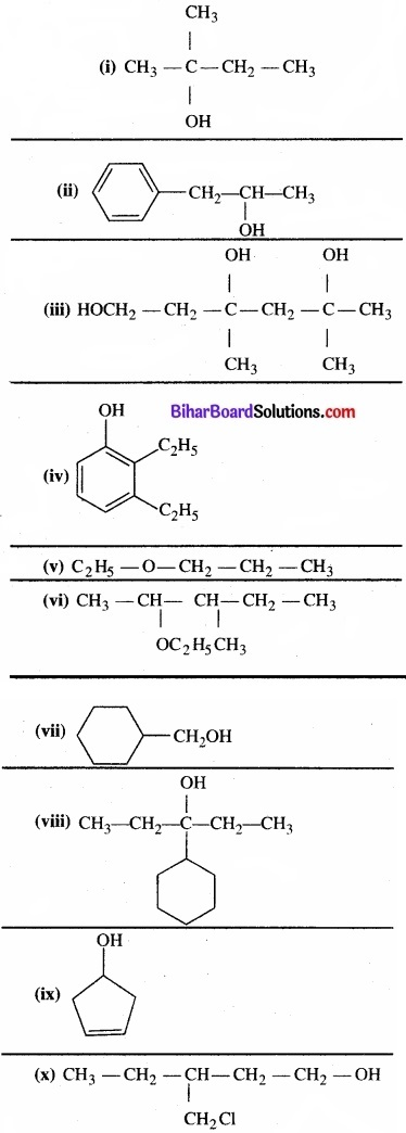 BIhar Board Class 12 Chemistry Chapter 11 ऐल्कोहॉल, फ़िनॉल एवं ईथर img-26