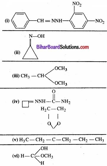 BIhar Board Class 12 Chemistry Chapter 12 ऐल्डिहाइड, कीटोन एवं कार्बोक्सिलिक अम्ल img-24