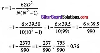 Bihar Board Class 11 Economics Chapter 7 सहसंबंध Part - 2 img 37