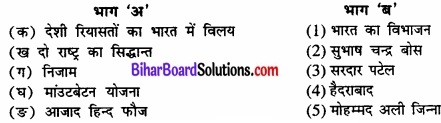 Bihar Board Class 12 Political Science Solutions chapter 1 राष्ट्र निर्माण की चुनौतियाँ Part - 2 img 3