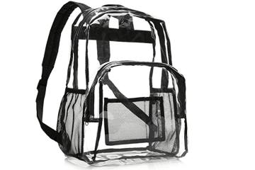 Best Clear Transparent Backpacks