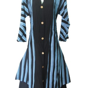 Best Quality Long wood buttons With Attached Koti One Piece Dress