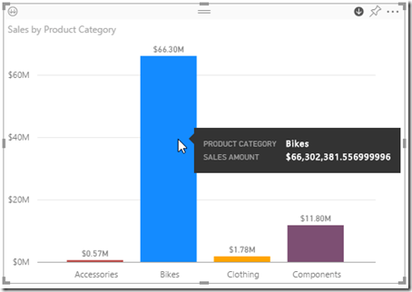 Drill Action in Power BI 06