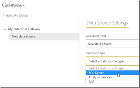 Managing Power BI Enterprise Gateways 01