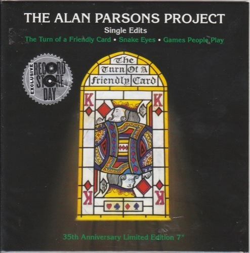 Alan Parsons Project The - Turn Of A Friendly Card : The Singles - 88875143727 - ARISTA