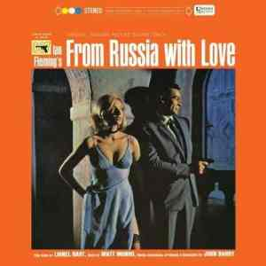 John Barry - From Russia With Love (Original Motion Picture Soundtrack) - B0023041-01 - CAPITOL RECORDS