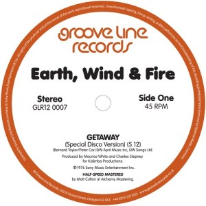 Earth|Wind & Fire - Getaway (Special Disco Version) / Getaway (Instrumental) - GLR120007 - GROOVE LINE RECORDS