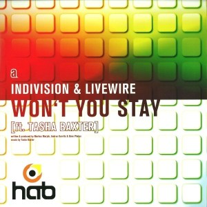 Indivision & Lifewire - Won't You Stay (feat. Tasha Baxter) - HAB032 - HAVE A BREAK