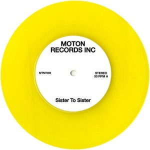 Moton Records Inc - Sister To Sister/ We Are The Sunset - MTN7003 - MOTON