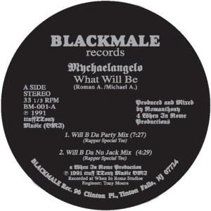 Mychaelangelo ( Romanthony ) - What Will Be - BM-001 - BLACK MALE