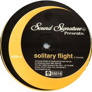 Theo Parrish - Solitary Flight - SS016 - SOUND SIGNATURE