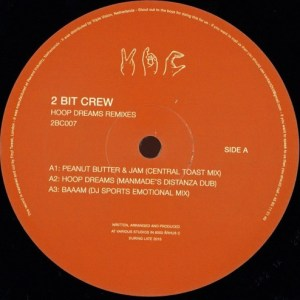 2 Bit Crew - Hoop Dream Remixes - 2BC007 - 2 BIT CREW RECORDINGS