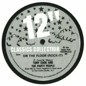 Tony Cook & The Party People - On The Floor - 12INCH01 - N/A